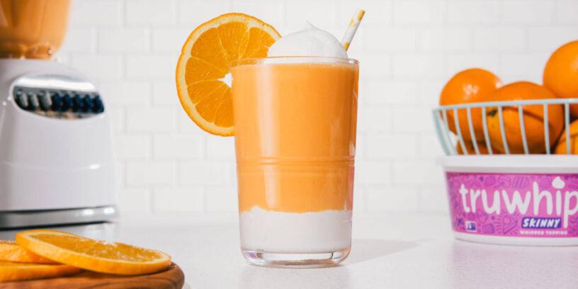 Truwhip Summer SKINNY Orange Smoothie Responsive Ad